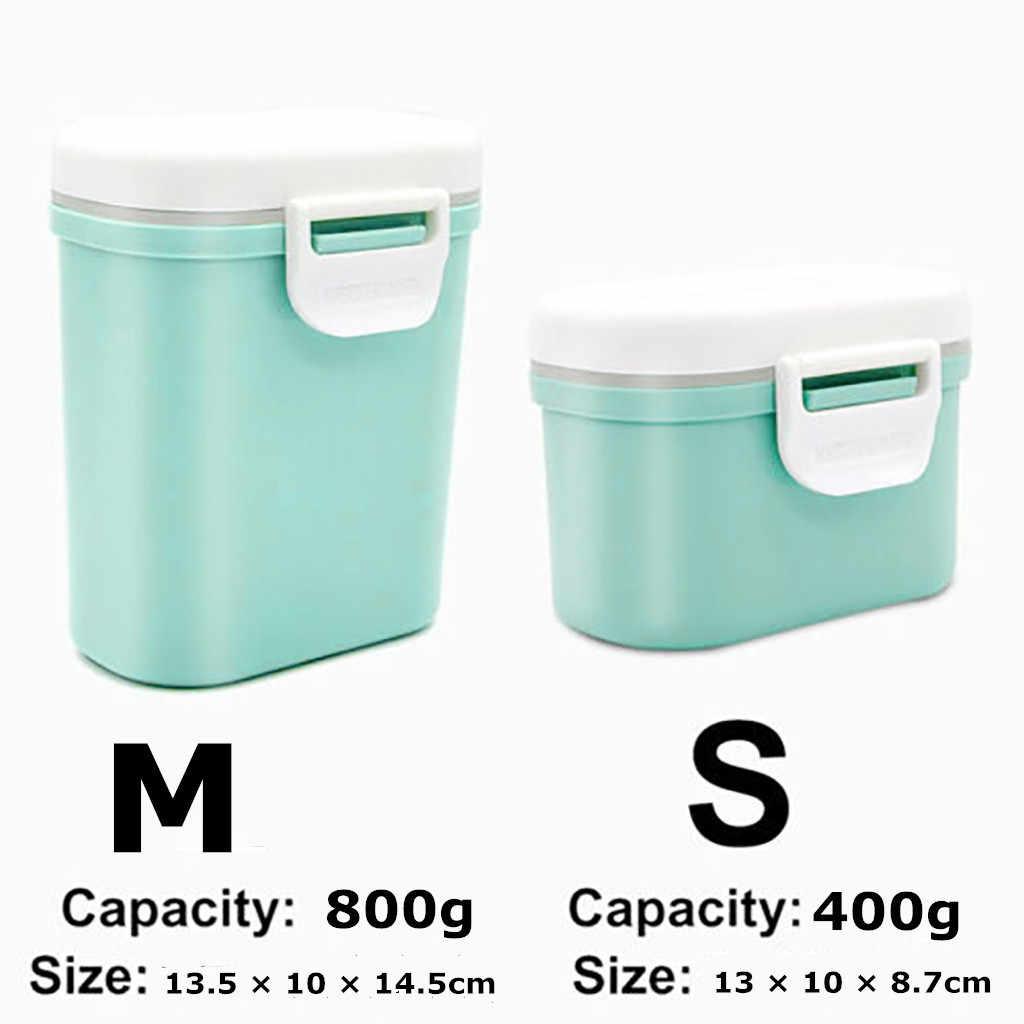 Almacenamiento de leche infantil niños leche en polvo portátil dispensador de fórmula contenedor de alimentos caja de alimentación para niños comida #0905