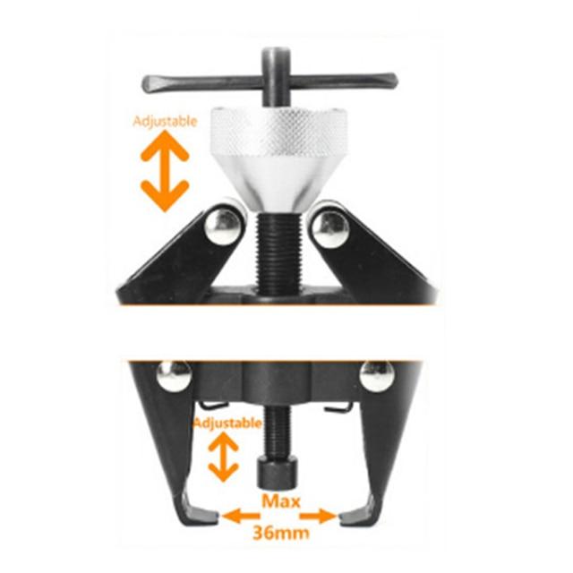 Rolamento extrator ferramenta rolamento windshield limpador braço removedor extrator rolamento extrator de rolo do corpo do carro extrator ferramenta de reparo