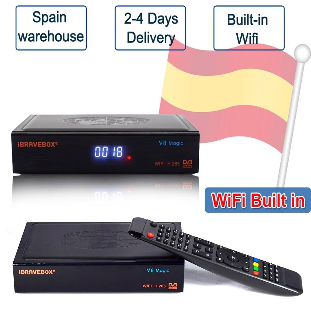 2020 Новый V8 Magic DVB S2 H.265 HD спутниковый ресивер Поддержка PowerVu Biss Youtube Xtream c cam Newcam Встроенный 2,4G WIFI|Спутниковое ТВ|   | АлиЭкспресс