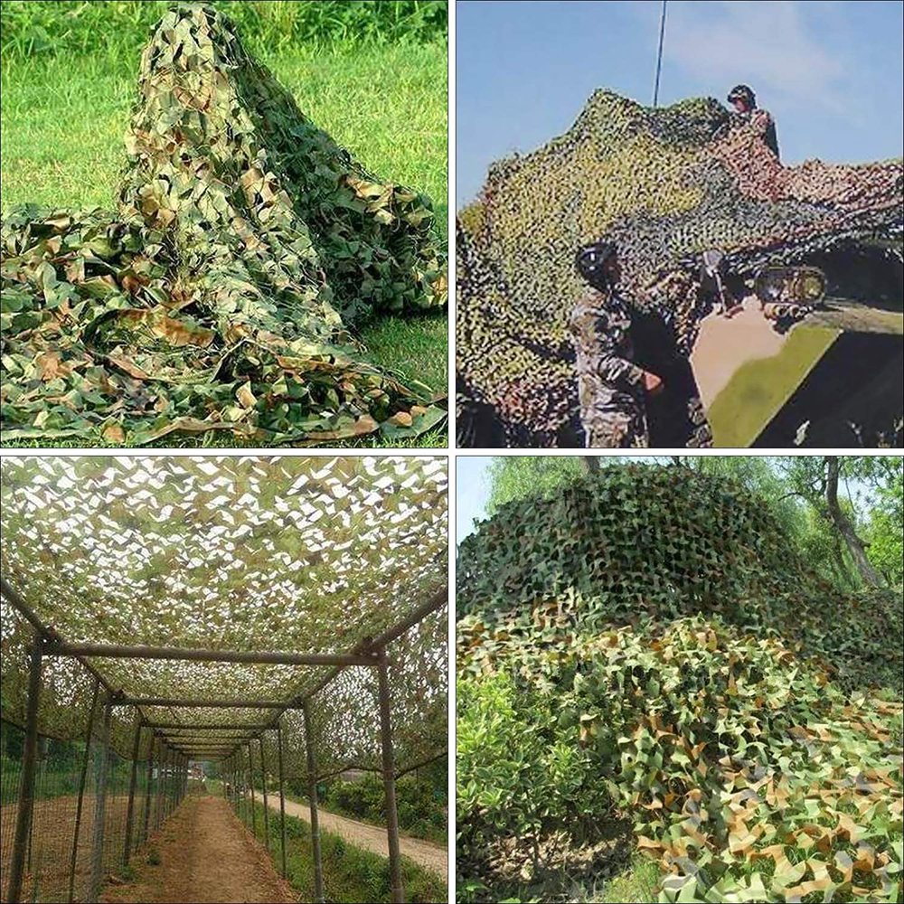 Military camouflage nets, shade nets, shade sails, suitable for decoration of camps and courtyards and various places-4