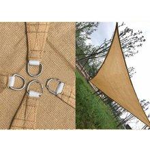 Sail Sunscreen Breathable Shade Sail Pe Uv Protection Awning Shade For Outdoor Courtyard Swimming Pool Carport Shade Shade