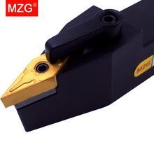 MZG barra de corte de Metal MVVNN2525M16, cortador de perforación de 25mm, portaherramientas de carburo, portaherramientas de torneado exterior, cenador de torno CNC