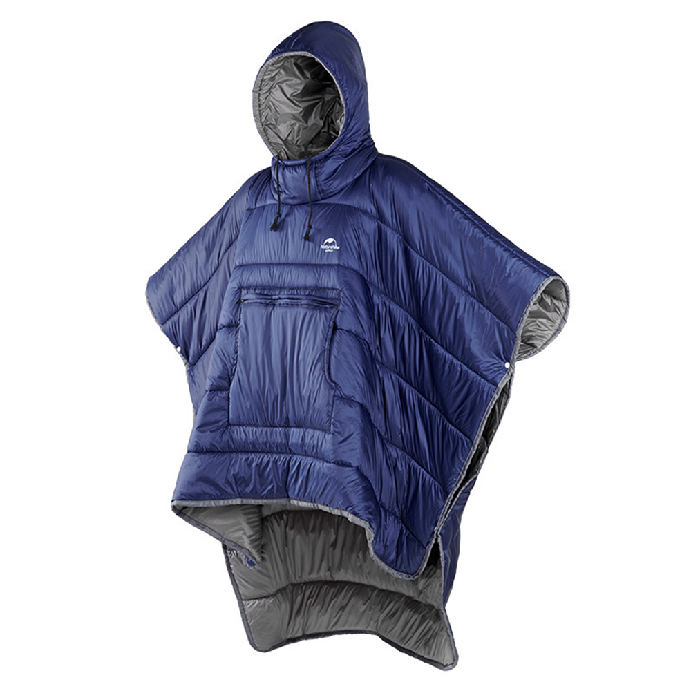 Extérieur résistant à l'eau sac de couchage manteau hiver Camping Honcho Poncho paresseux couette couverture chaude veste pour hommes femmes