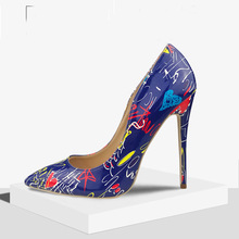 High Heels Shoes Women Pumps 11.5cm Woman Shoes Sexy Pointed Toe  Party Shoes Stilettos  Nude Heels Stiletto Plus Size недорого