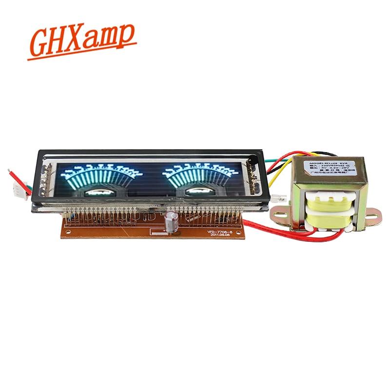 Multimedia Display Pointer VU Meter Level Indicator VFD Fluorescent For Multimedia Speakers Amplifiers DIY Transformer AC220V