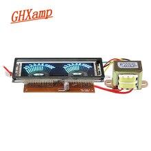 Мультимедийный дисплей, указатель VU, измеритель уровня, VFD, флуоресцентный, для мультимедиа, динамиков, усилителя, DIY трансформатор AC220 в, моно