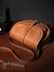 Saddle Purse Totes-Bags Shoulder-Bag Cobbler Legend Ladies Handbag Vintage Luxury Designer