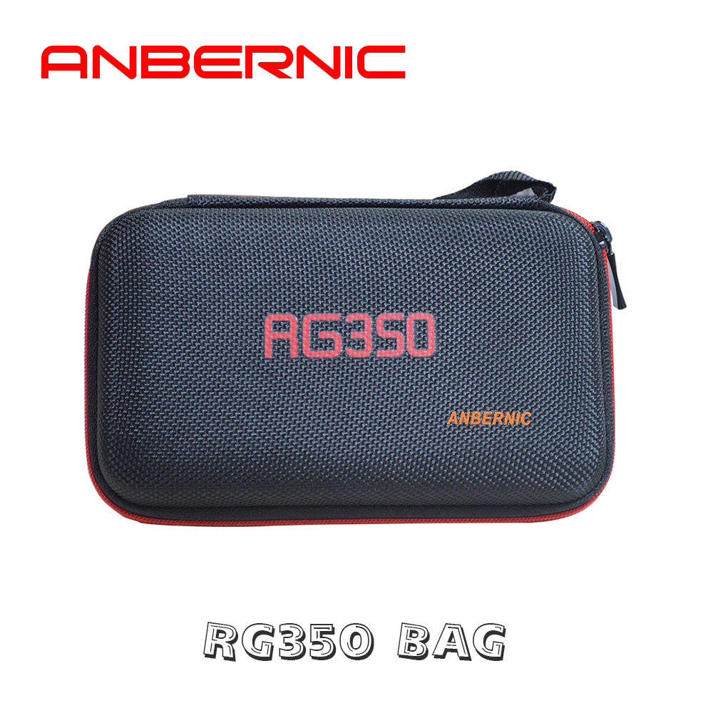 Anbernic saco de proteção para retro game console rg350 versão jogador jogo rg 350 handheld retro game console