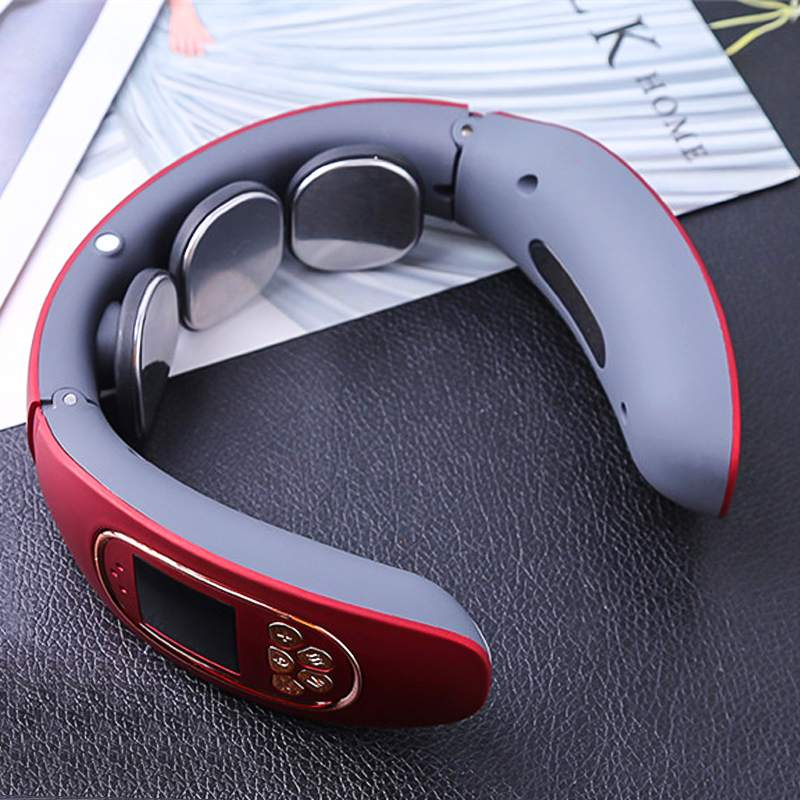 Elektromagnetische Halswirbel Haushalt Tragbares Zervikale Massage Instrument Multi-funktion Neck Massage Instrument 2019 Neue