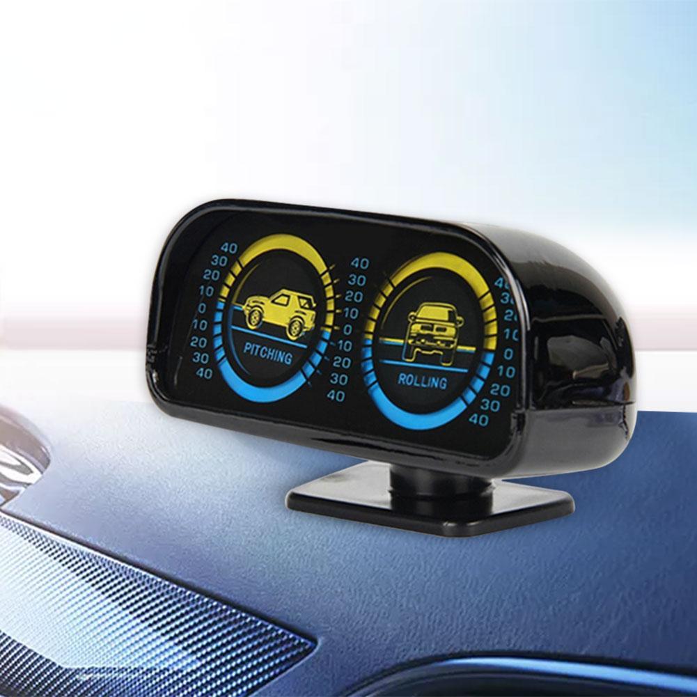 2 в 1, автомобильный Регулируемый Компас, балансировочный измеритель наклона, тахометр, аксессуары для салона автомобиля, для автомобилей, л...