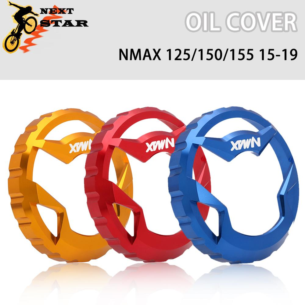 CNC Aluminum <font><b>Modified</b></font> Motorcycle For N-MAX Part Oil Fuel Tank Cap Cover For <font><b>YAMAHA</b></font> <font><b>NMAX</b></font> <font><b>155</b></font> NMAX155 125 150 <font><b>155</b></font> 2015-2019 image