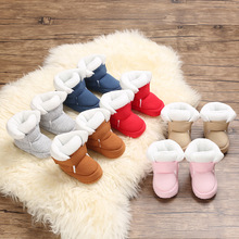 Baby Shoes Booties Toddler Newborn Girl Infant Soft Boy Cotton First-Walkers Anti-Slip
