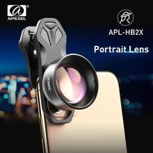 Объектив камеры APEXEL HD 2X для телефона с зумом, телескоп 4K с фильтром CPL Star для Huawei, Samsung, iPhone, всех смартфонов
