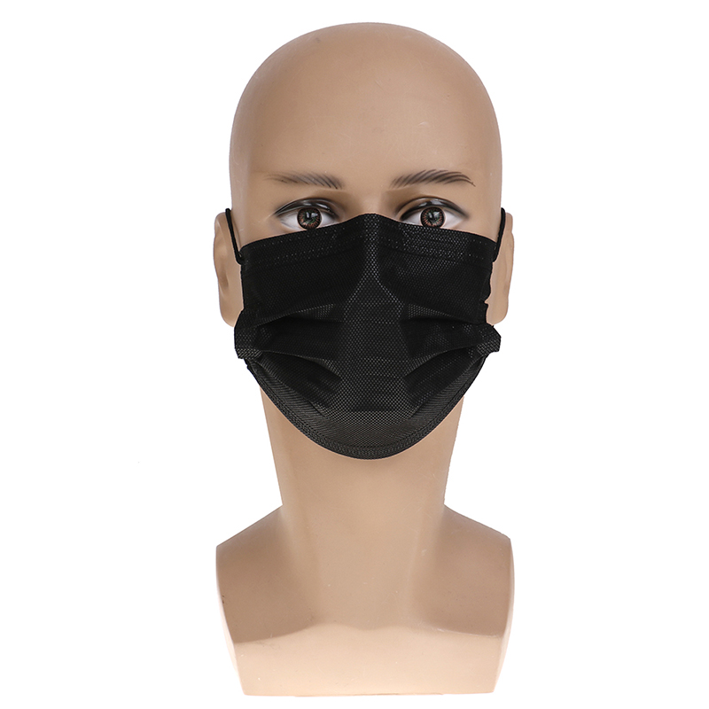 Image 4 - 10PCS Dustproof Facial Protective Cover Non Woven Masks Anti Dust  Disposable Surgical Medical Salon Earloop Face Mouth Masks  -