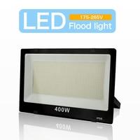 Proiettore a LED 220V faretto da esterno IP66 riflettore da parete a led impermeabile illuminazione 200W 100W 50W 30W 10W decorazione quadrata da giardino