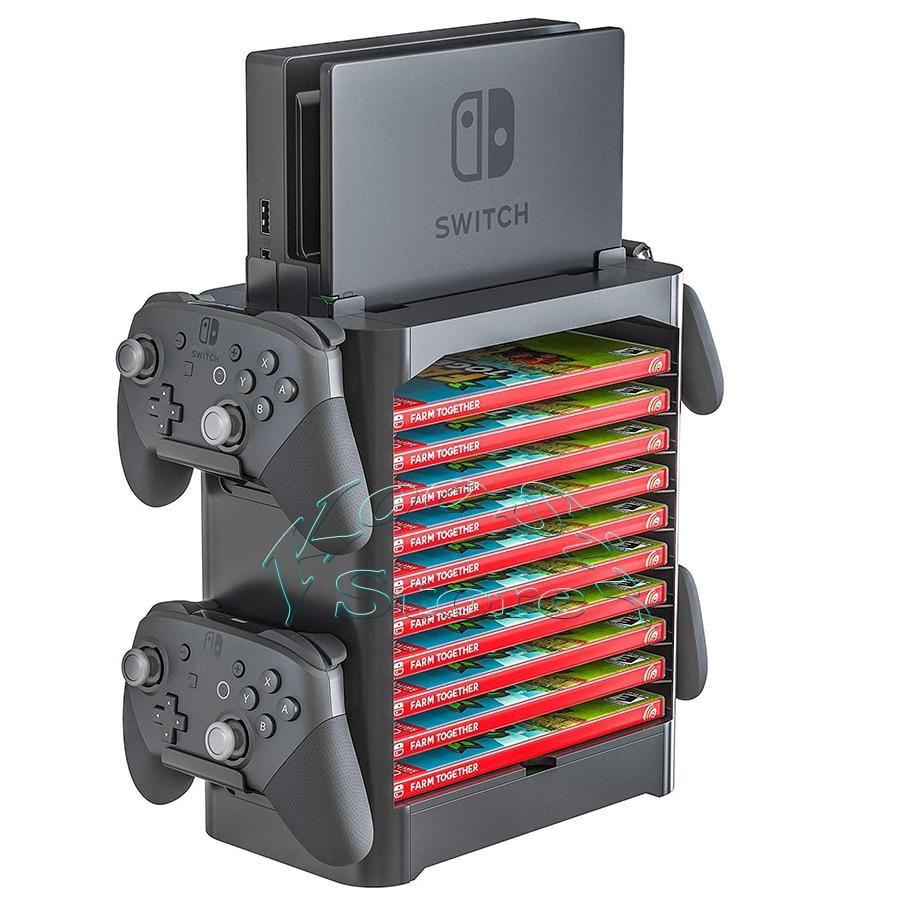 Stojalo za shranjevanje dodatkov za konzolo Nintendo Switch Nintendo - Igre in dodatki - Fotografija 3