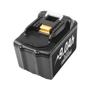 Image 2 - Bonacell 18V 9000mAh Batteria Al Litio di Ricambio per Makita Trapano BL1830 LXT400 194205 3 194309 1 BL1815 BL1840 BL1850 L30