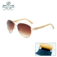Sunglasses Men Women Original Wooden Fashion Bamboo Leg Frame Handmade Brand Designer Luxurious UV400