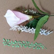 Режущие штампы с изображением цветов Листьев краев ножей формы