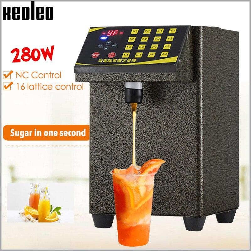 Xeoleo Fructose machine 16 grid Fructose Quantitative machine Automatic Fructose Dispenser Syrup dispenser for coffee/Bubble tea
