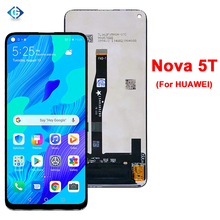 """Dello schermo Per Huawei Nova 5T Display LCD Touch Screen Digitizer Pannello di 6.26 """"Lcd Per Huawei Nova5T YAL L21 YAL L61 YAL L71 Display"""