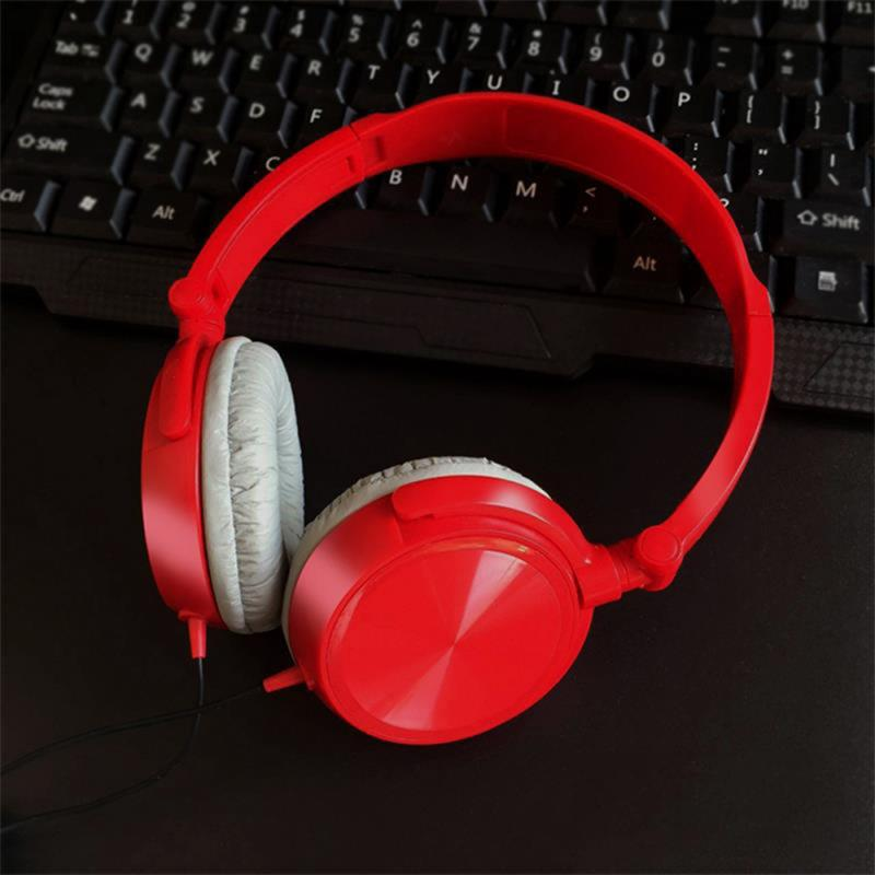 Gaming Headphone 3.5mm Wired Headset  Stereo Earphone Universal  Headset For Smartphone Pc For Xiaomi Huawe Portable Audio 4