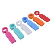 Latest 50PCS Plastic Plants Tags Nursery Garden Ring Label Pot Marker Stake Hanging Tags