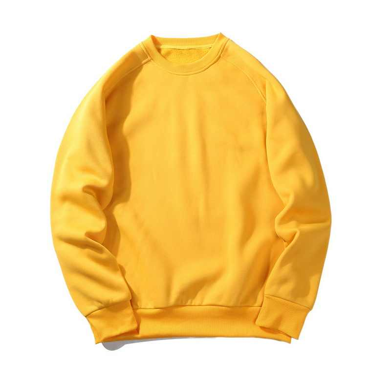 솔리드 스웨터 봄 가을 패션 후드 남성 대형 따뜻한 양털 코트 남성 브랜드 후드 티 스웨터