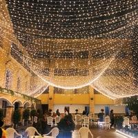 10M 100M LED String ghirlanda albero di natale fata luce collana impermeabile casa vacanze all'aperto festa nuziale decorazione del giardino