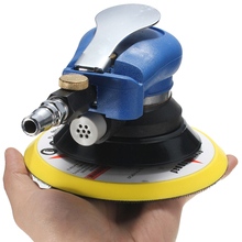 цена на 6 10000RPM Pneumatic Sander Air Random Orbital Palm Sander Polisher Auto Body Orbit  Polishing Grinding Sanding Tool Set