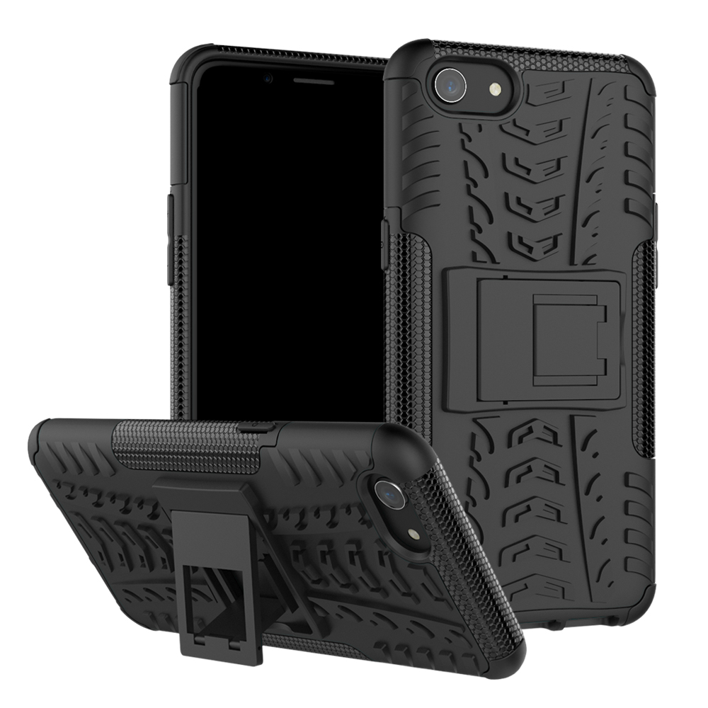 Shockproof Armor Case For OPPO F5 R9 R9S F3 A83 A1 F7 A5 A3S F9 F11 Realme 3 2 C2 A1k Pro Plus TPU Hard Rubber Phone Case Cover image