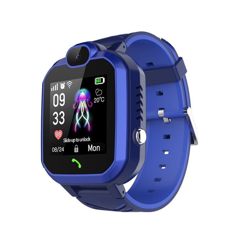<font><b>R7</b></font> Kids <font><b>Smart</b></font> <font><b>Watch</b></font> Phone Position Water Resistant Children Wrist <font><b>Watch</b></font> Girls Boys Birthday Gifts Smartwatch image