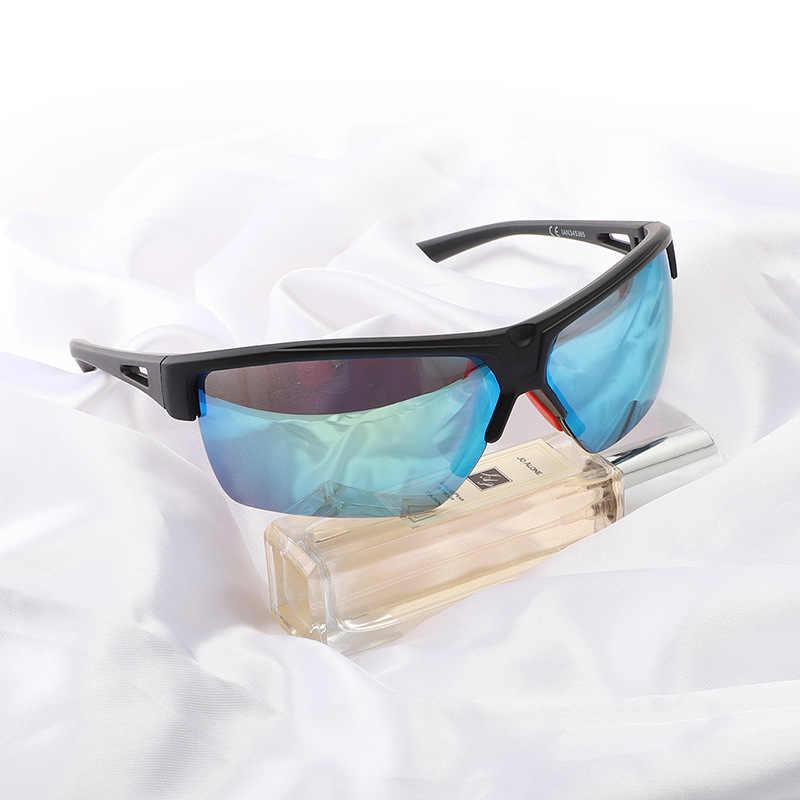 Hommes Femmes Grand Cadre Lunettes De Soleil Sport Extérieur Anti-UV coupe-vent lunettes nouveau