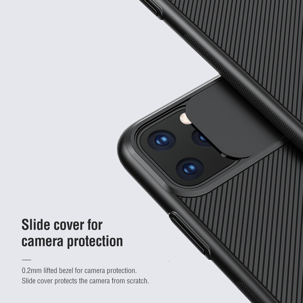 Для iphone 11 Pro Max чехол-слайдер для защиты камеры NILLKIN для iphone 11 чехол-накладка для iphone 11 Pro чехол s