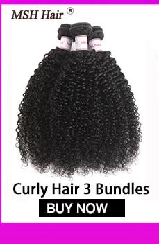H00467f80072042269cedfd207b234d02N MSH Hair Brazilian Body Wave Human Hair Weave Bundles With 4*4 Lace Closure 130% Density Non Remy