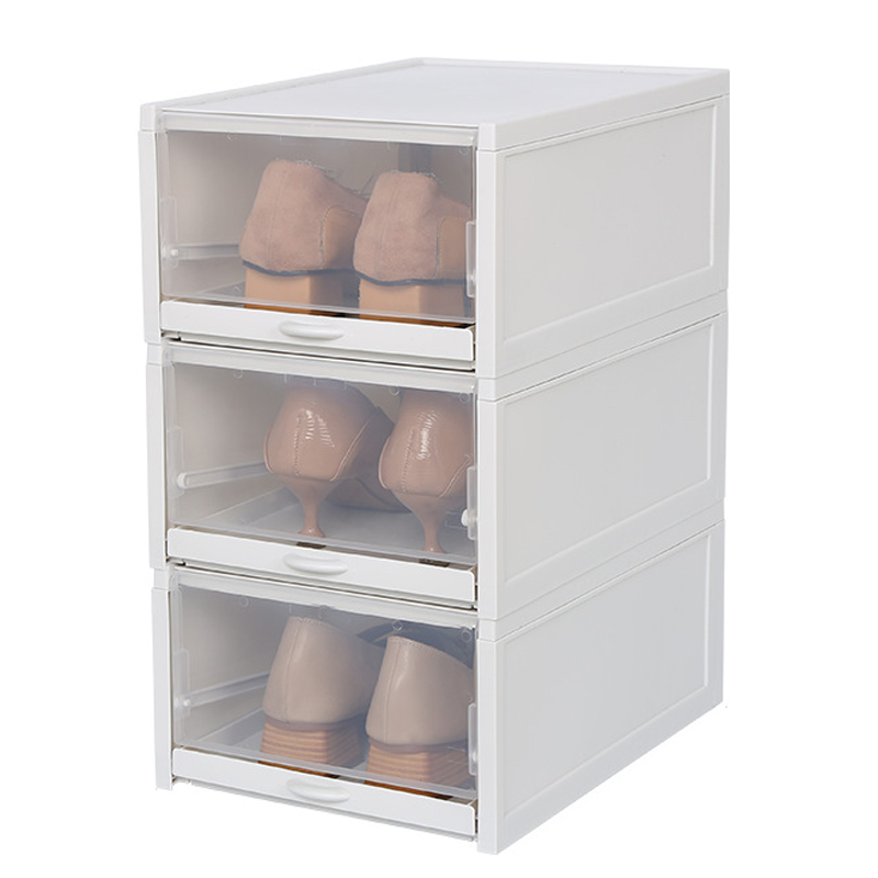 Pcs, Storage, Eco-Friendly, Transparent, Shoe, Organizer