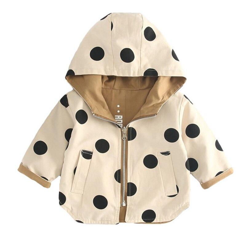 Демисезонные плотные куртки для девочек, двусторонняя детская верхняя одежда, спортивные пальто с капюшоном и надписью, детская одежда, тре...