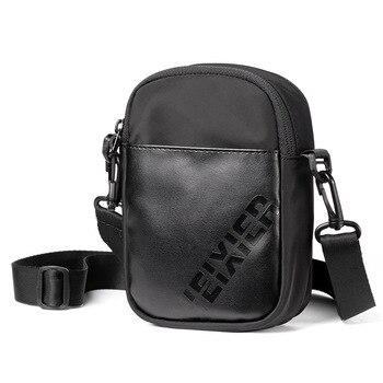 2020 Fashion Men's One-shoulder Messenger Bag Outdoor Leisure Multifunctional Waist Bag Wear Belt Mobile Phone Waist Bag naturehike yb02 multifunctional outdoor nylon waist bag blue gray 3l