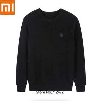 Xiaomi MITOWNLIFE men cotton Vintage loose sweater Comfortable skin male Autumn Winter Pullovers Fashions Sweater
