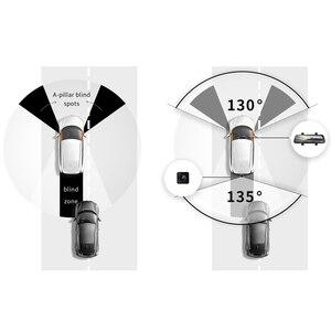 Image 3 - 2020 جديد 9.35 بوصة كامل الشاشة 70mai الرؤية الخلفية داش كام واسعة 1080P السيارات كام 130FOV 70mai مرآة مسجل السيارة تيار وسائل الإعلام جهاز تسجيل فيديو رقمي للسيارات