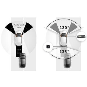 Image 3 - 2020 New 9.35 Inch Full Screen 70mai Rearview Dash Cam Wide 1080P Auto Cam 130FOV 70mai Mirror Car Recorder Stream Media Car DVR