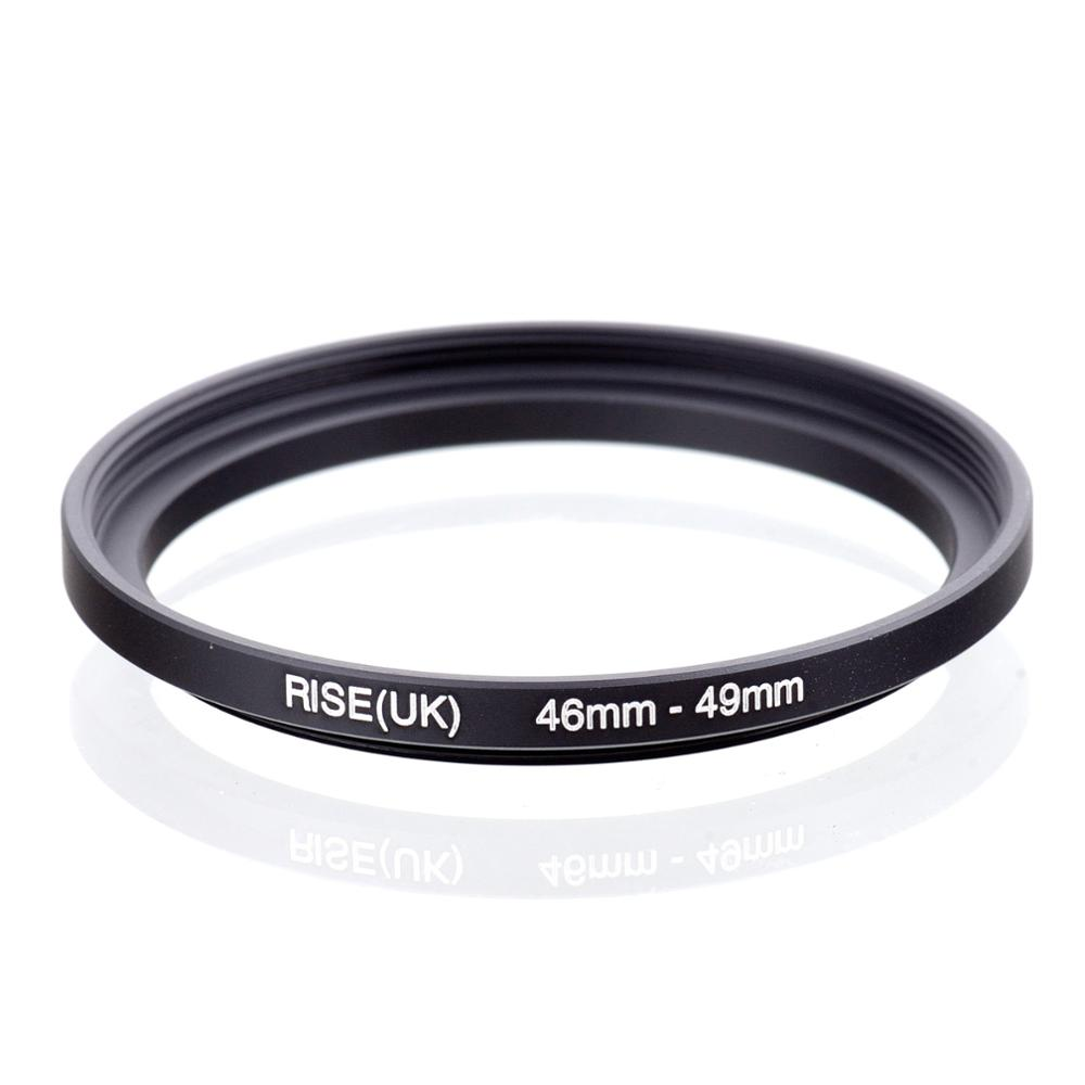 RISE(UK) 46mm-49mm 46-49 Mm 46 To 49 Step Up Filter Ring Adapter