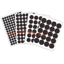 Rótulos de selo redondos pretos com 1-5cm, adesivos selos para envelope, scrapbooking, feito à mão, 300 peças adesivos papelaria