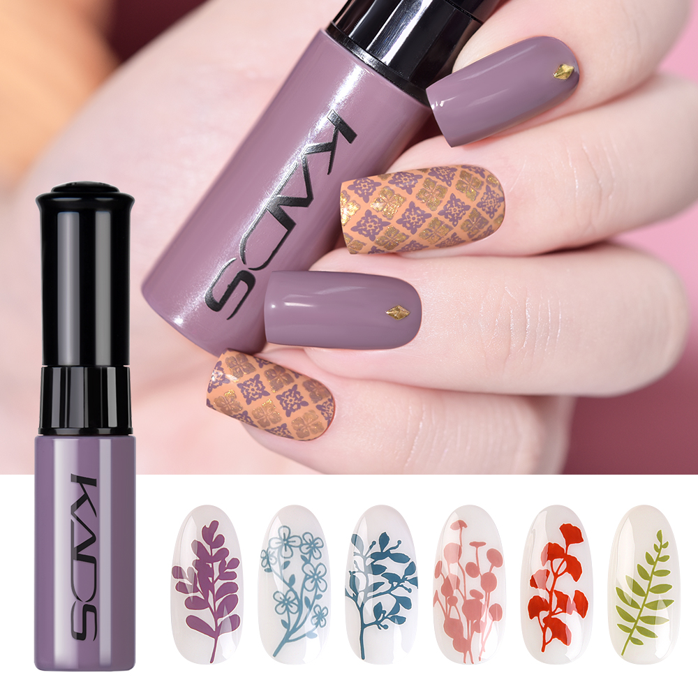 Лак для стемпинга ногтей для штампов пластина 2 функции печать лак точечный лак для ногтей маникюрный шаблон