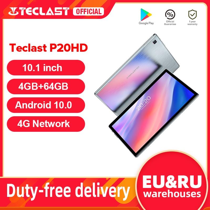 "Teclast P20HD 10.1"" Android 10 Tablet 1920x1200 SC9863A Octa Core 4GB RAM 64GB ROM 4G Network AI Speed up Tablets PC Dual Wifi|Tablets| - AliExpress"