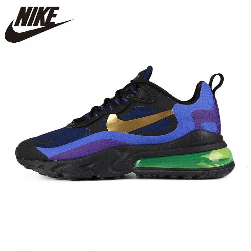 NIKE AIR MAX 270 REACT Original New Arrival Men Running Shoes Outdoor Air Cushion Sports Sneakers #AQ4971-300