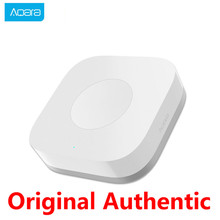 цена на Aqara Smart Wireless Switch Intelligent Switch Application Remote Control ZigBee Wifi Connection 1 Key Control For Mi Home APP