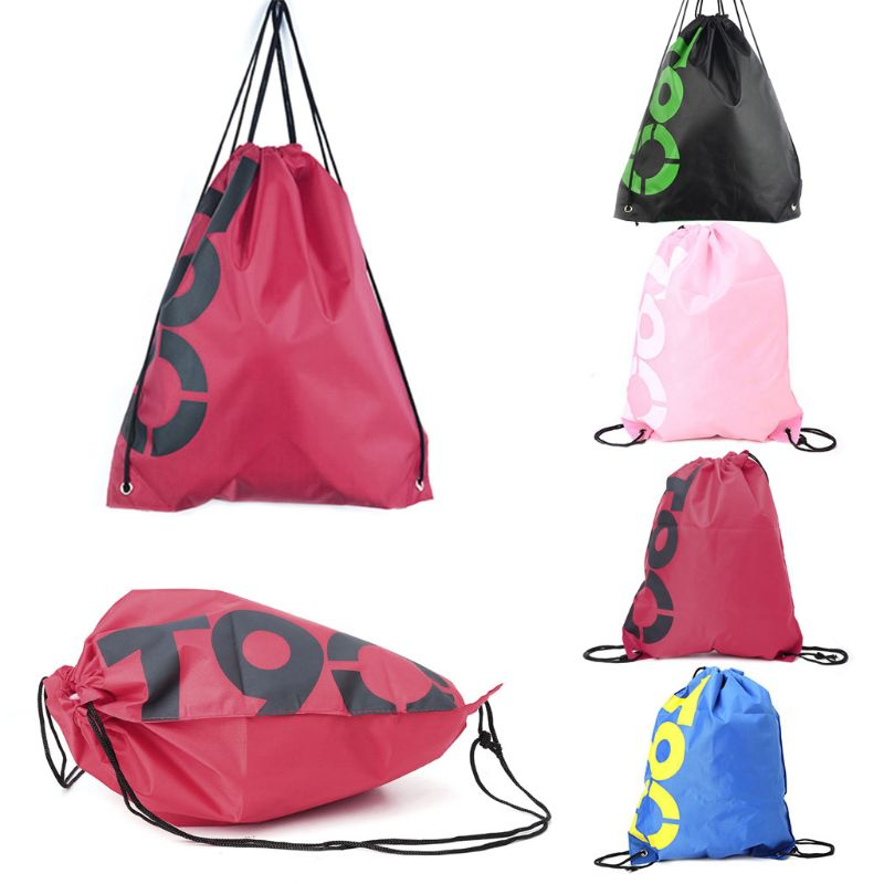 Circles Triangles Drawstring Backpack Sports Athletic Gym Cinch Sack String Storage Bags for Hiking Travel Beach