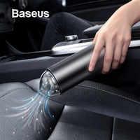 Aspirateur de voiture Baseus Robot aspirateur Portable sans fil Portable pour intérieur de voiture et nettoyage de la maison et de l'ordinateur