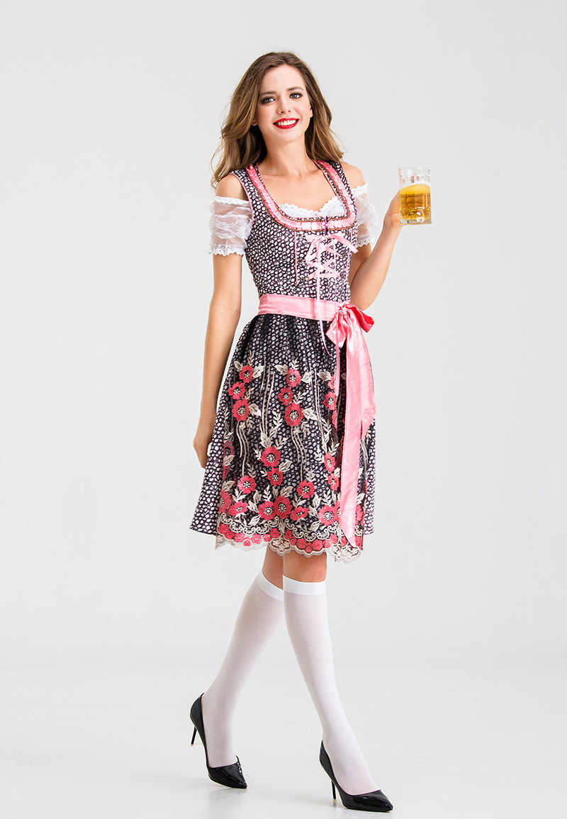 Hot Stage Prestaties Kleding Nieuwe Duitse Traditionele Oktoberfest Kleding Europese En Amerikaanse Bar Werkkleding Grote Maat 3XL